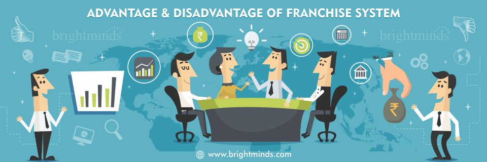 Advantage and disadvantage of franchise system