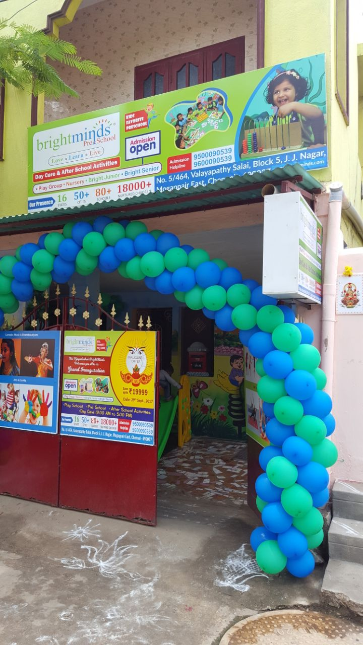 Bright Minds Preschool Mogappair East, Chennai