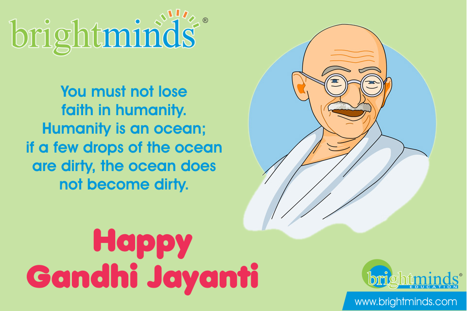 How to celebrate Gandhi Jayanti in School